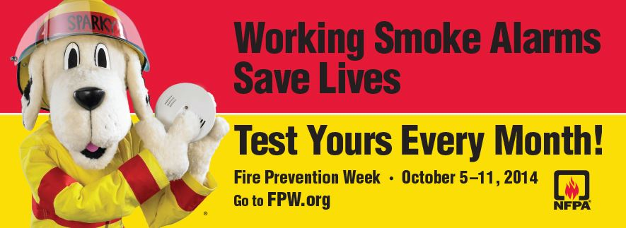 Test your smoke alarm every month